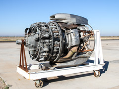 Wright R-3350 Duplex-Cyclone engine (ChrisK48) Tags: airplane aircraft dc7 radialengine p08 curtisswright aircraftengines douglasdc7b coolidgeaz n4887c coolidgemunicipalairport internationalairresponse wrightr3350duplexcyclone tanker33 cn45351 n4766n