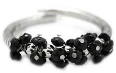 5th Avenue Black Bracelet P9112-2-1