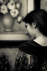 Arte (HiroyukoPhotography ) Tags: portrait blackandwhite bw italy woman white black girl face fashion canon pose photo model italia noir photographie noiretblanc modeling femme shooting mode fille bianco blanc ritratto nero italie visage sicile 700d hiroyukophotography