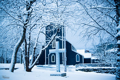 Hymn to Winter (Nuvan Masum Jujuly) Tags: winter snow church st newfoundland nikon stjohns nl 1855mm johns d5300