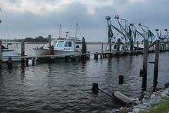Leeville, Louisiana (Shane Adams Photography) Tags: canon boat louisiana bayou coastal wharf pilings fishingboat shrimpboat gulfcoast lafourcheparish leeville canonrebel3ti ilobsterit