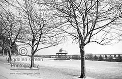 Eerie Silence of Winter   - Magdalen Green Bandstand  - Dundee West End - Scotland (Magdalen Green Photography) Tags: scotland snowscenes 3154 magdalengreenbandstand scottishwinter prettysnow dundeewestend snowindundee magdalengreenphotography eeriesilenceofwinter dundeewinterscenes