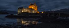 The Beauty of Eilean Donan (simpletones) Tags: castle night landscape scotland highlands loch eilean donan duich dornie