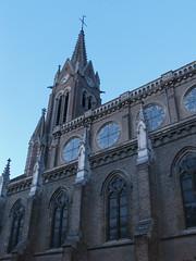 138/365: glise Saint-Martin, lheure bleue (Kelvin P. Coleman) Tags: sky urban church canon evening dusk powershot ciel bluehour 365 soir crpuscule glise amiens urbain heurebleue
