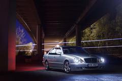 IMG_3611 OK (Ondej Zeman) Tags: car night photography mercedes benz e w210