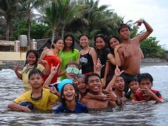 The beach (JUST THE PHILIPPINES) Tags: girl asian asia pretty philippines manila filipino batangas filipina garcia oriental calapan dose valenton batino