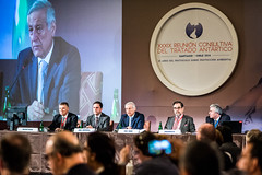 """Canciller Muñoz tras inauguración de Reunión Consultiva del Tratado Antártico """"Para Chile la Antártica es Futuro"""" (20)"""