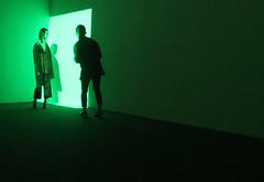 How green was my valley (Robert Saucier) Tags: newyorkcity light newyork green chelsea artgallery lumire vert galerie jamesturrell pace img2107 pacegallery