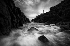 Fanad Lighthouse (Rodney o Callaghan) Tags: ireland lighthouse seascape nature landscape rocks donegal fanad