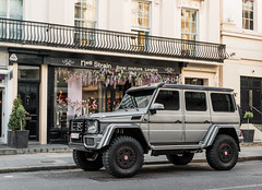 Another big car (Alexbabington) Tags: london cars car grey mercedes 4x4 german mercedesbenz supercar squared amg supercars g500