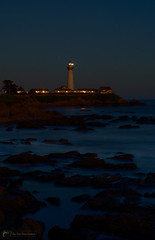Pigeon Point Twilight (pillar point posters) Tags: california lighthouse building halfmoonbay pigeonpoint coastside