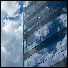 cloud space | leeds (John FotoHouse) Tags: blue abstract color colour architecture clouds reflections square flickr fuji yorkshire leeds squareformat johndolan 2016 dolan leedsflickrgroup leedsflickr cloudspace johnfotohouse yorkshirephotographer copyrightjdolan yorkshirebasedphotographer fujifilmx100s