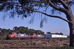 Parklands Trailerail (Bingley Hall) Tags: railroad train diesel transport engine rail railway australia transportation adelaide locomotive southaustralia freight parklands emd vline roadrailer 645e clydeengineering c502 trailerail rpauviccclass rpauviccclassc502 railpage:class=21 railpage:livery=5 railpage:loco=c502