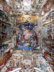 col naso all'ins (fotomie2009) Tags: italy italia liguria genova vault palazzo fresco volta ducale giovanni cappella affresco soffitto battista carlone dogale
