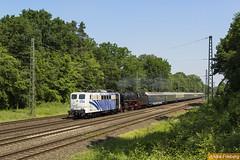 Lokomotion 151 056 + 01 1066 mit Westfalendampf Lr (tsp-Photos) Tags: railroad train eisenbahn zug locomotive bahn osnabrück trein lokomotive lok sonderzug lokomotion westfalendampf natruphagen 151056