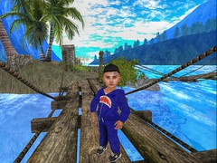Blah. (Zaidon Resident) Tags: pictures ocean blue trees sky people mountains beach boys fashion kids clouds hair photography photo 3d shoes babies photographer designer exploring running blogger sneakers secondlife blogging reality dope tracksuit fit photograpy photooftheday virtural toddleedoo