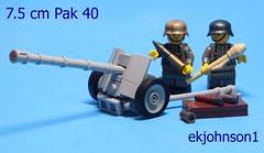 7.5 cm Pak 40 (ekjohnson1) Tags: world africa two italy france holland print war gun tank arms lego brothers russia tiger wwii north band potato german vehicle 40 build panther citizen normandy dday sherman reloaded panzer halftrack pak moc masher panzerfaust operationmarketgarden t34 odg brickarms stalhelm overmould citizentbrick