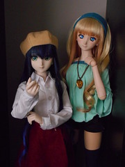 Lynn and Sheryl 062516-02 (ArtCresc) Tags: dollfiedream bjd dds dh07
