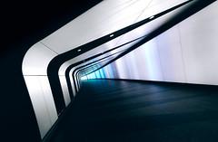 Speed force (Panda1339) Tags: uk light london architecture tunnel tubestation londonunderground kingscross futuristic yesthattunnelagain