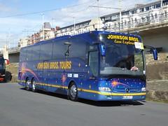 Johnson Bros, [BJ16KYY] - Blackpool (23/04/16) (David's NWTransport) Tags: mercedes mercedesbenz tourismo johnsonbros mercedestourismo mercedesbenztourismo bj16kyy