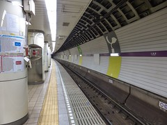 Tokyo Tube V (Douguerreotype) Tags: city urban japan underground subway tokyo metro tube tunnel