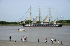 Tall Ships Race 2016 Skruzenstern DST_5283 (larry_antwerp) Tags: 2016 antwerp antwerpen       port        belgium belgi          schip ship vessel        schelde        sailing tallship kruzenstern tallshipsrace