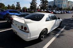 R33 (Joe Folino ( LoopRunner )) Tags: white cars sports coffee car skyline japanese orlando nissan custom r33 jdm modded gtr imported