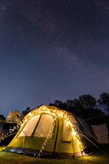 Sleeping under the Stars (charlieshelton33) Tags: camping sky lake way stars colours district tent cumbria milky campsite vango bassenthwaite