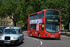 HV26 - LJ60 JGZ (Solenteer) Tags: arrivalondon hv26 lj60jgz volvo b5lh hybrid wrightbus eclipsegemini2 hydeparkcorner arrivalondonnorth