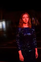 Mermaid in the Night III (Pauline Clment Photographies) Tags: blue light red strange fashion night mermaid sirene