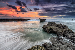 Echo Beach Sunset (Helminadia Ranford) Tags: echobeach bali indonesia seascape sunset nature travel asia