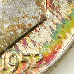Coin photography - 1952 Roosevelt Dime - Detail (kevin dooley) Tags: canon photography coin roosevelt dime toned 1952 10cents 80d coinphotography