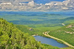 View From Cannon Mountain (evanlochem) Tags: franconia notch state park grafton new hampshire england united states mount lafayette appalachian mountains cannon mountain echo lake white national forest july summer america