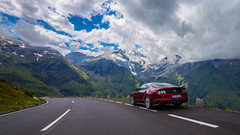 On the Hochalpenstrasse (Jon Ames) Tags: hochalpenstrasse grossglockner mustang