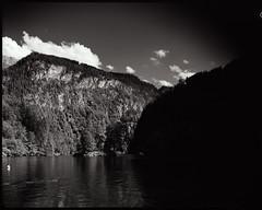 Shadow (_landes) Tags: linhoftechnikaiv largeformat landscape film analog bw schneiderkreuznach symmars150mmf56 knigssee