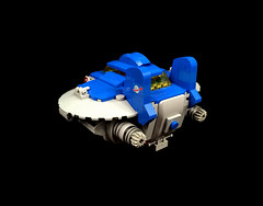 """LL-1030 """"Junebug"""" cargo transport (timhenderson73) Tags: lego neo classic space ll1030 cargo ship"""