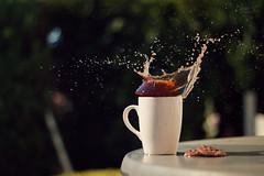 coffee ? (blanchilein) Tags: coffee splash photography canon