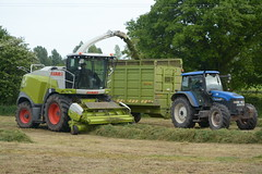 Claas Jaguar 970 SPFH filling a Dooley Silage Trailer drawn by a New Holland TM140 Tractor (Shane Casey CK25) Tags: claas jaguar 970 spfh filling dooley silage trailer drawn new holland tm140 tractor tm 140 nh cnh blue green coachford self propelled forage harvester tracteur traktori traktor trekker trator county cork contractor cignik crop collecting cutting silage16 silage2016 grass grass16 grass2016 winter feed fodder ireland irish farm farmer farming agri agriculture field ground soil earth cows cattle work working horse power horsepower hp pull pulling cut lifting machine machinery nikon d7100