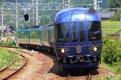 The Blue Liner (Teruhide Tomori) Tags: dieselmultipleunit train railway japan jr railroad   tangonoumi kyototangorailway kyoto saninline    aseri express    ktr8000