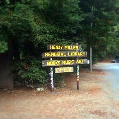 Henry Miller Memorial Library by John Mutford, on Flickr