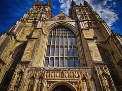 Canterbury Cathedral (PhilnCaz) Tags: highdynamicrange edited tonemapped processed hdr niksoftware scenic philncaz historic colourefex kent olympuse5 e5 nik olympus summer history efex summerholiday religious church south canterbury cathedral canterburycathedral motherchurch archbishop