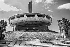 BUZLUDZHA-46 (RAFFI YOUREDJIAN PHOTOGRAPHY) Tags: buzludzha bulgaria spaceship soviet architecture ruin graffiti communist derelict abandoned relic distasteful building monument