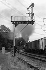 GCR 43059bw (kgvuk) Tags: gcr greatcentralrailway trains railways locomotive steamlocomotive 9f 2100 92212 92178 swithlandsidings