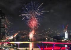 2016 Brisbane Sunsuper Riverfire (Photos by Lance) Tags: focus metro urban aurorahdr riverfire northpoint outdoor brisbanecbd fireworks night darkness afterdark 2016sunsuperriverfire