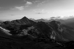 "(Isat"") Tags: france nature noiretblanc montagne mountain moutains alps alpes aravis"