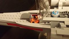 Luke's Incom T-65 X-Wing Starfighter (DJ BaLaLaWa) Tags: lego lukeskywalker xwing moc