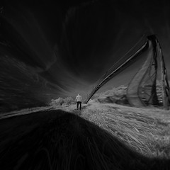 who knows where the road goes (old&timer) Tags: background blackandwhite infrared filtereffect composite surreal song4u oldtimer imagery digitalart laszlolocsei