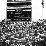 Carter-Finley Stadium, NC State versus ECU; circa 1980