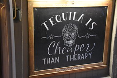 The truth! (M. Georgiev) Tags: tequila therapy cheap