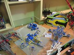 MOAH Winter Show 2014-2015 (47) (origamiguy1971) Tags: layout town lego mosaic spiderman trains superman batman palo alto ghostbusters moc walle moah baylug esseltine origamiguy origamiguy1971